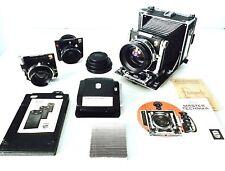 Linhof Master Technika 4x5 + 3 Premium-Objektive + Super Rollex