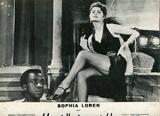 SEXY SOPHIA LOREN CI TROBIAMO IN GALLERIA 1957 VINTAGE PHOTO ORIGINAL #1 LEGGY