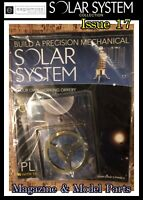 Build A Precision Mechanical Solar System - Issue 17 - Model Parts & Magazine