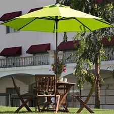 Outdoor Umbrella Patio Market Green 9FT