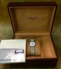 Longines Stainless Steel Case Analogue Wristwatches