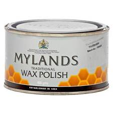 MYLANDS TRADITIONAL BEE'S WAX FURNITURE POLISH - CLEAR COLOUR - 400GM TIN