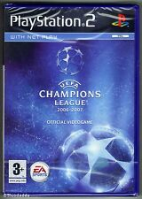PS2 UEFA Champions League 2006 - 2007, UK Pal ,Brand New & Sony Factory Sealed