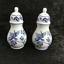 Blue Danube Onion Japan Salt Pepper Shakers