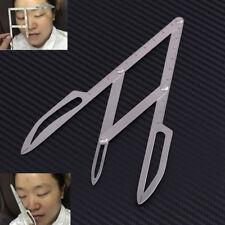 Microblading Permanent Makeup Eyebrow Calipers Stencil Design Golden Ratio Ruler