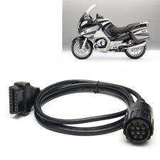 Adapterkabel 10 Pin OBD2 Diagnose Kabel für BMW ICOM-D Motorrad Diagnose-Stecker