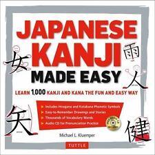 Japanese Kanji Made Easy: (JLPT Levels N5 - N2) Learn 1,000 Kanji and Kana the F