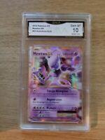 MEWTWO EX GMA 10 GEM MT 2016 Pokemon XY #52 Evolutions Holo