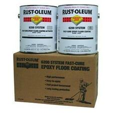 NEW RUSTOLEUM 6200 SYSTEM EPOXY FLOOR COATING, SILVER GALLON KIT (50 AVAILABLE)