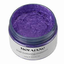 Hair Color Pomades MOFAJANG Wax Mud Dye Styling Cream Disposable DIY 7 Colors/
