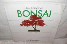 BONSAI Alberi in miniatura Paul Lesniewicz Verlag Bonsai Centrum Manuale Fauna