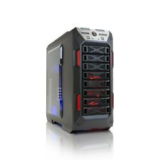 InWin GRone Full Tower Gaming Case, E-ATX, ATX, M-ATX, StormForce Logo, Black