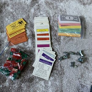 Monopoly Misc Game Pieces Lot