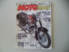 MOTO STORICHE E D'EPOCA 8/1999 SUZUKI RT 66/IMN/GILERA 175 CROSS/MORINI MORANDI