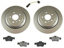 Mercedes W164 ML550 2008-2011 Rear Disc Brake Rotors Pads Sensor Kit Best Value