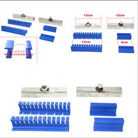 4pcs Adhesive Blue Glue Tabs+2 Pcs Holder Kit For Car Paintless Dent Repair Tool