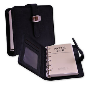 A-7 SIZE POCKET FILOFAX RING BINDER IN PVC Material with Insert type Flap