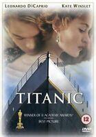 Titanic Leonardo Dicaprio Kate Winslet Billy Zane Fox GB Región 2 DVD L Nuevo