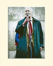 TONY BENN LABOUR SOCIALIST MP 10X8 MOUNTED SIGNED AUTOGRAPH PHOTO