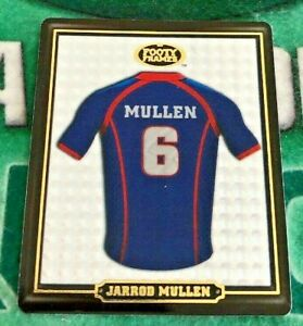 2009 NRL Footy Frames Tazo No 31 Jarrod MULLEN Newcastle Knights Gold Embossed
