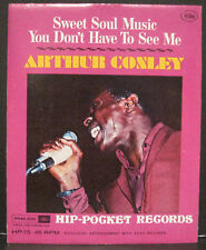 "ARTHUR CONLEY Hip-Pocket Records ""Sweet Soul Music"" MINT Sealed in Envelope"