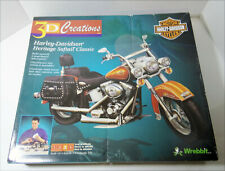 Harley Davidson Wrebbit Classic 3D Creations Build Yourself Paperboard Open Box