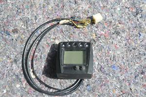 Universal LCD Digital Tachometer KOSO Tacho Motorrad Roller Quad ATV