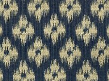 Covington CHESTER Ikat INDIGO BLUE Home Decor Upholstery Sewing Fabric BTY