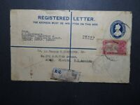 India 1931 Registered Letter Cover to USA - Z11628