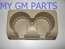 TAN CUP HOLDER FOR CHEVY COLORADO GMC CANYON NEW OEM  19121876