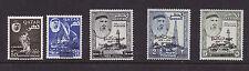 Qatar mnh stamps sc 111-111d jfk new currency overprints 1966