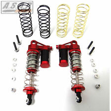 Hot Racing TD90AR02 Traxxas 2WD Stampede Front Adj. Piggyback Shocks 90mm (Red)
