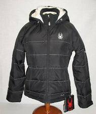 $275 NEW 550-FILL DOWN SPYDER NIRVANA SKI SNOWBOARD JACKET WOMENS 6 EU 34