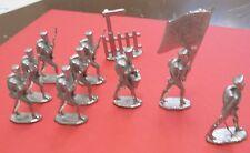 Zinnbrigade Zinnfiguren Preußische Musketiere 10tlg