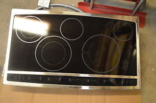 "Electrolux Ew36Cc55Gs 36"" Stainless Smoothtop Induction Electric Cooktop #3232"