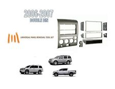Fits NISSAN TITAN PATHFINDER ARMADA 2006-2007 2 DIN STEREO DASH KIT w/ Tool Set