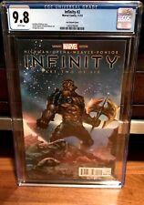 Infinity #2 Black Order Variant IN-HYUK LEE 1:75 Dwarf CGC 9.8 Thanos WAR NM