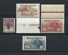CAISSE D' AMORTISSEMENT - 1926-27 YT 229 à 232 - TIMBRES NEUFS** MNH