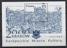 Pologne Polska 1 feuillet neuf 2000 Cracovie /T879