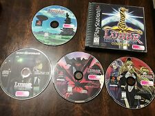 Lunar Silver Stay Story PS1 Game Soundtrack TESTED Fast Shipping Playstation 1