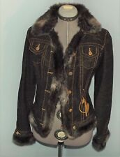 Baby Phat Fur Trimmed Jacket - Size M