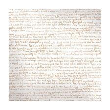 """12"""" Scrapbook Paper 12p We R Vellum Sheer Metallic Copper Sentiment Wedding Baby"""