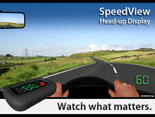 HUD Velocímetro MPH KMH Secundario Conducción COLEGIO Fácil De Montar No GPS