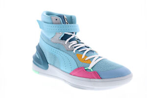 Puma Sky Modern Easter 19404301 Mens Blue Mesh Lifestyle Sneakers Shoes