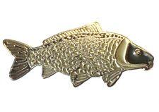 Common Carp Freshwater Game Fish Angling Fisherman Angler Enamel Pin Badge NEW