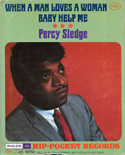 "PERCY SLEDGE ""WHEN A MAN LOVES A WOMAN/Baby..."" PHILCO-FORD HP-12 (1967) 45rpm"