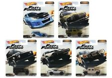 Hot Wheels Premium 2019 FAST AND FURIOUS Release D Real Riders Set Of 5 1/64