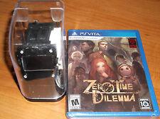 ZERO TIME DILEMMA NEW Sony Vita GAME & Rare WATCH