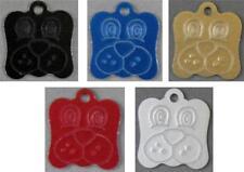 Médailles et porte-adresses en aluminium pour chien