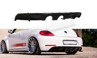 Heckansatz VW BEETLE schwarz Hochglanz